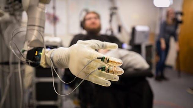 Научные достижения управляемых разумом протезов